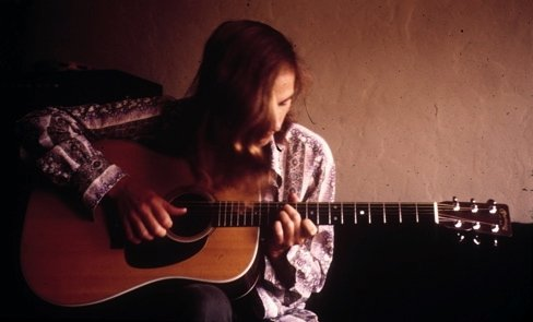 Me playing guitar in 1971 -