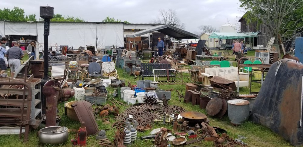 Did I mention the abundance of farm implements?
