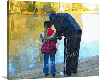Father & Daughter Fishing
