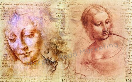 Da Vinci collage
