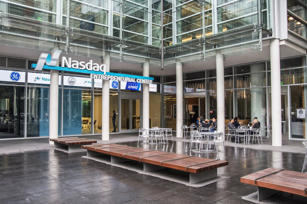 NASDAQ Entrepreneurial Center - 505 Howard Street - San Francisco, CA:  This is a 13,000 square-foot, ultra-modern facility located in San Francisco's South Financial District. Wilson Equity developed the facility which is a professionally managed event space for hosting entrepreneurial events and programs.