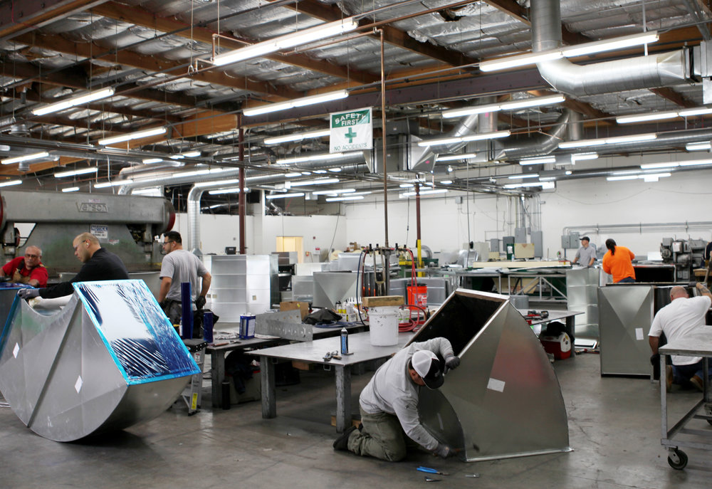 Our in-house capability minimizes downtime for our customers, while increasing quality control and helping shorten production schedules. Pre-fabricating materials in-house also makes for safer job sites for our clients.
