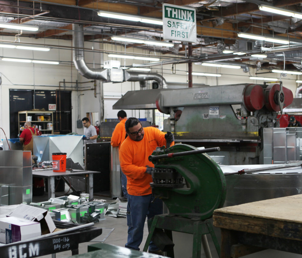 When it comes to HVAC systems, the advantages of in-house fabrication of metals are proven.
