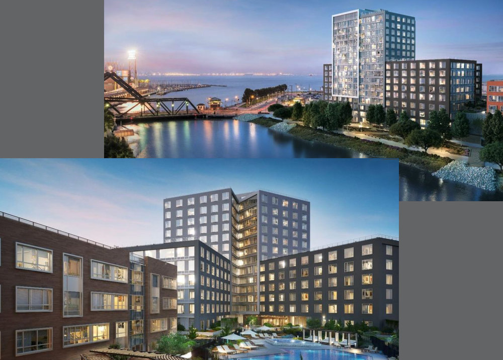 Mission Bay Block 1, San Francisco, CA : This 17-Story and 6-Story Concrete Structure contains 350-Condominiums with ground floor retail and amenities.