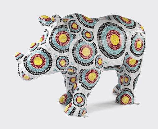 'Target Practice' by ArtC, 2014, Taronga Wild Rhinos