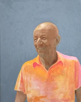 Artist Alex Katz - Studio in a School$24,000