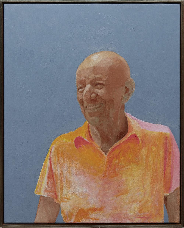 Alex Katz - oil on canvas, 30 x 24