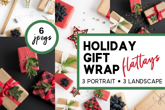 holiday gift wrap flatlays 6 jpeg bundle mock stock and roll.jpg