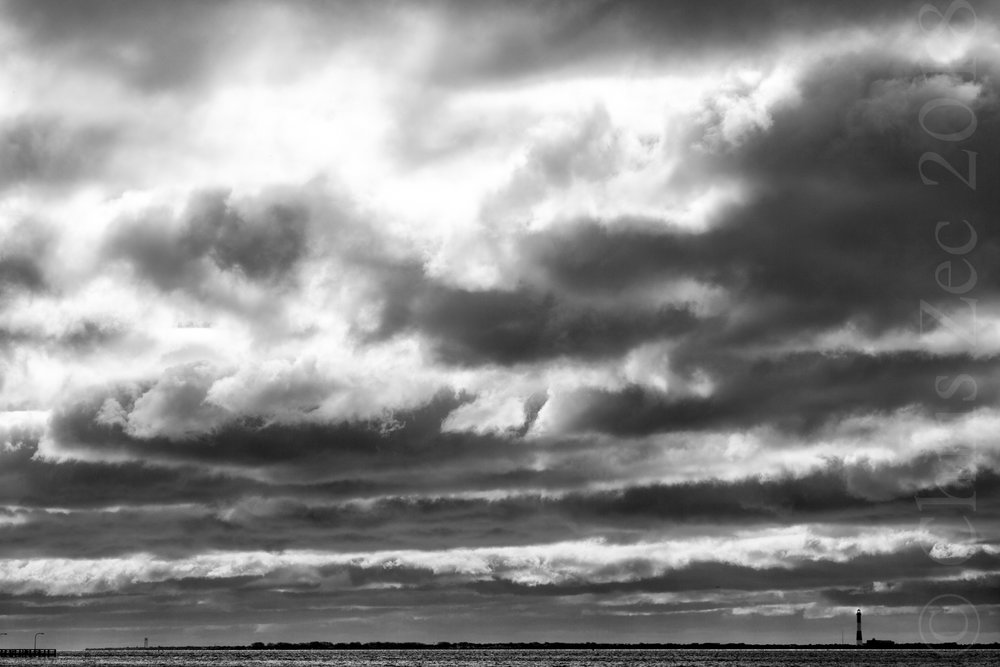 """Fire Island in Grayscale II"", 2011"