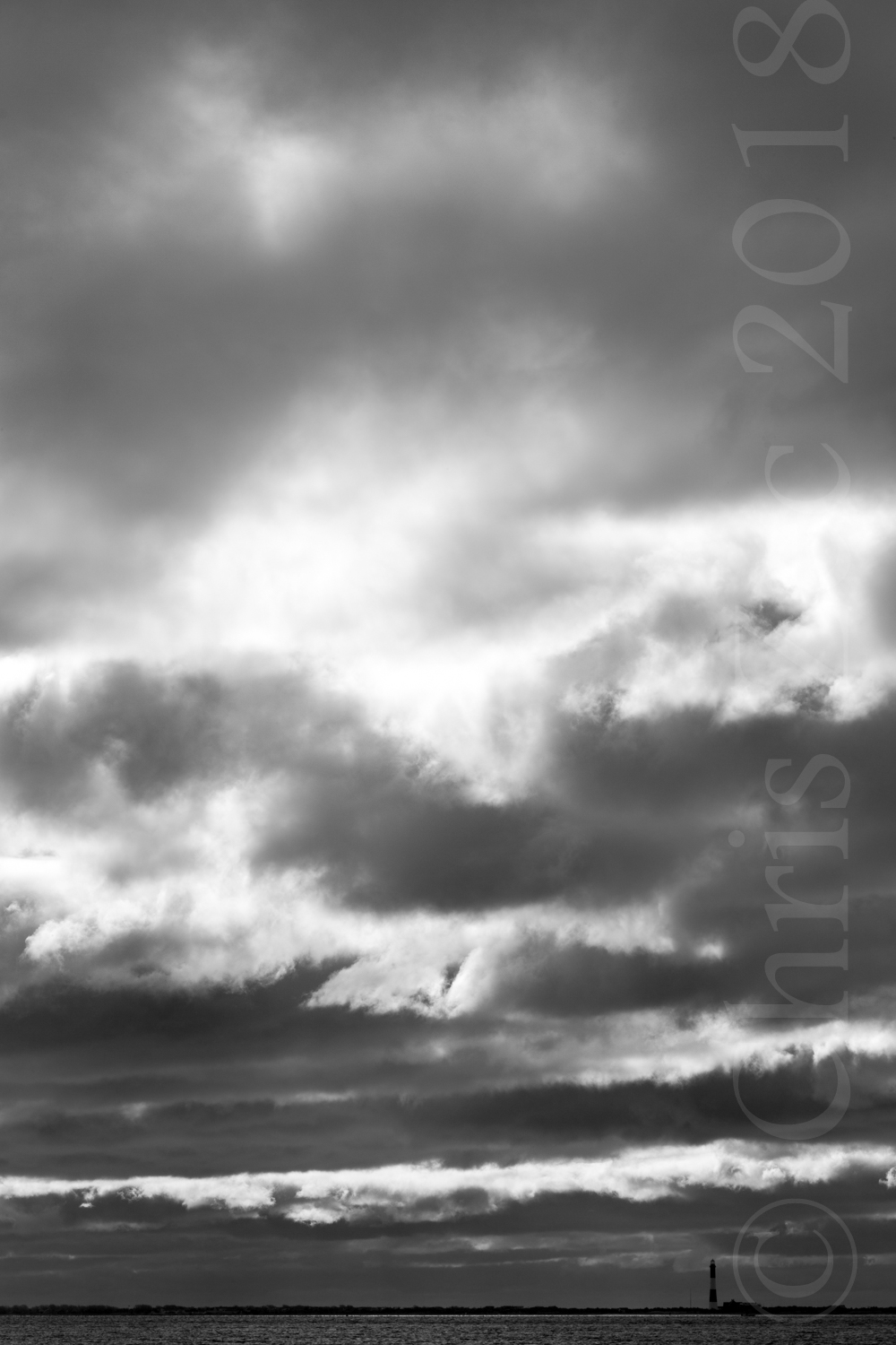 """Fire Island in Grayscale I"", 2011"
