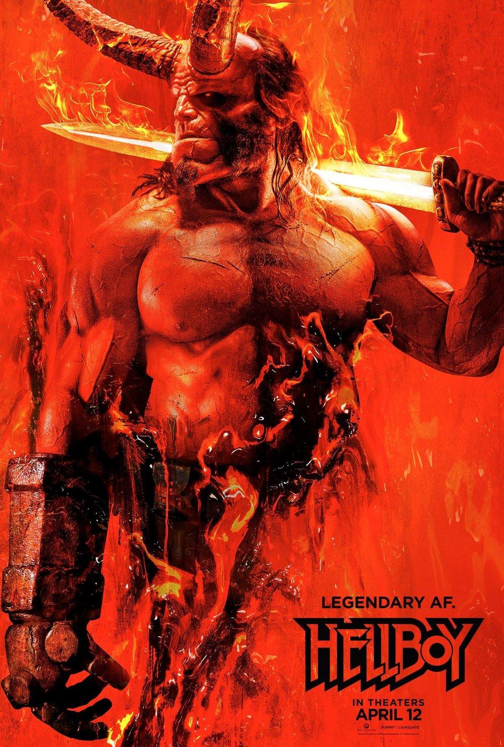Hellboy  Poster #1