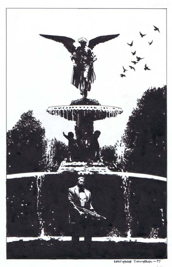 PUNISHER (MARVEL MAX), ISSUE CHARITY BOOK, PAGE INTERIOR PINUP