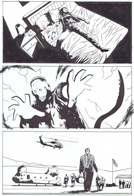 B.P.R.D. (DARK HORSE), ISSUE 145, PAGE 17