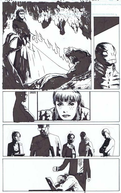 B.P.R.D. THE DEVIL YOU KNOW (DARK HORSE COMICS), ISSUE 04, PAGE 08