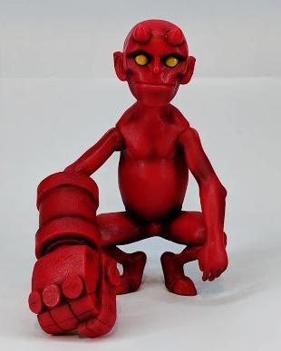 Baby Hellboy by Mondo