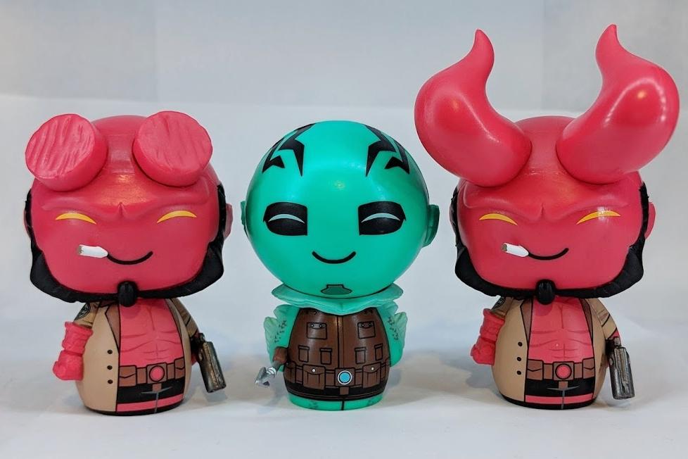 Hellboy and Abe Sapien Dorbz