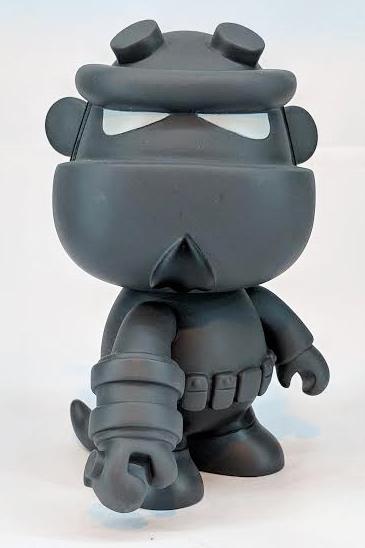 Greyscale Hellboy Mini Qee by Toy2R