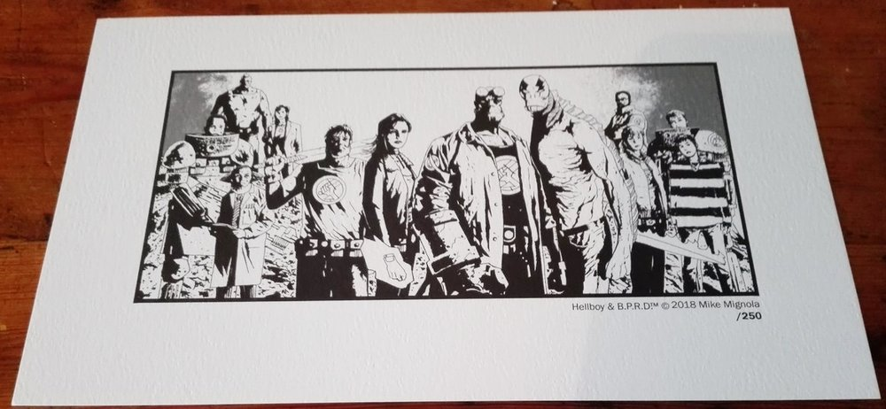 Hellboy and the B.P.R.D. Print