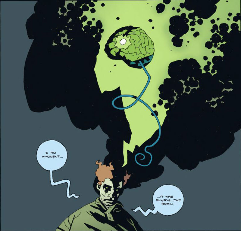 Writer:   Mike Mignola    Artist:   Matt Smith  (pencils) and  Ryan Sook  (inks)   Colored by   Dave Stewart
