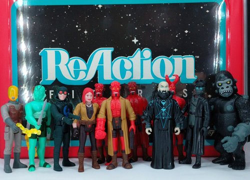 Retro As Hell Hellboy Reaction Figures Series 2 Mignolaverse