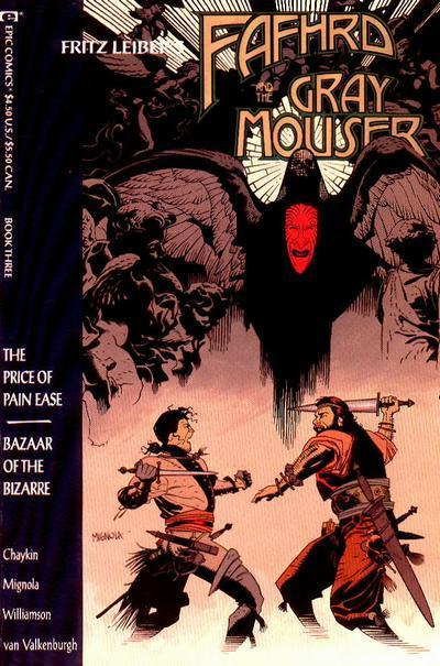"""Apparently a favorite of Mignola's among his early covers. One can see why."""