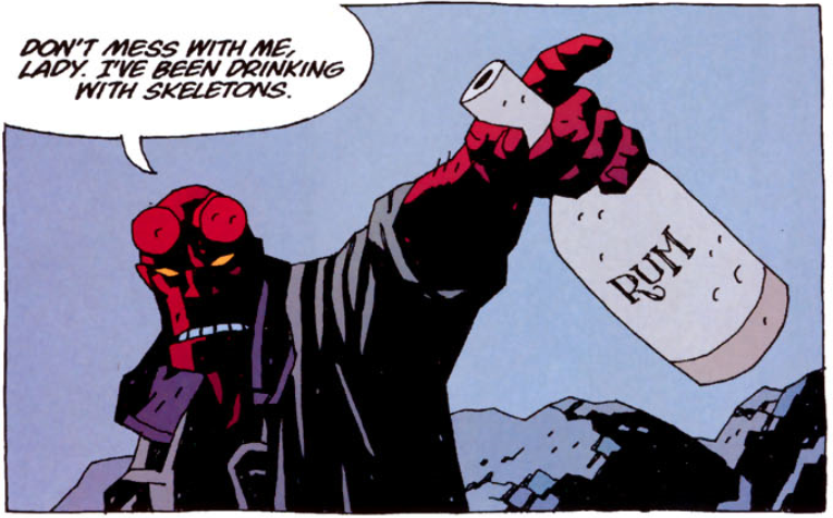 Art and Words:    Mike Mignola    Color:    Dave Stewart