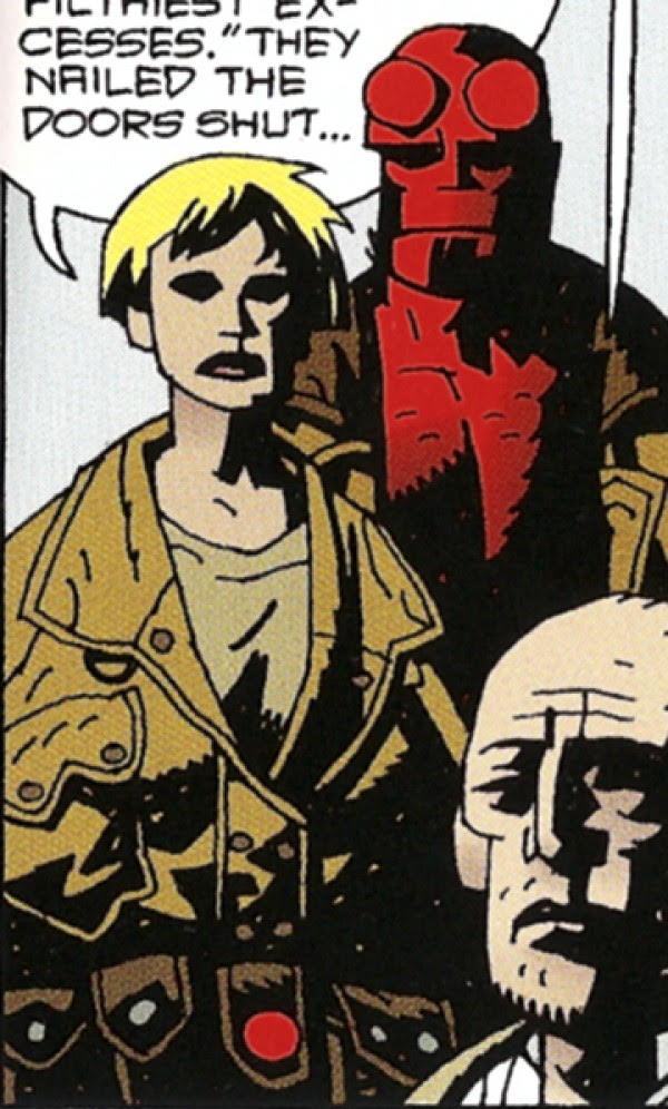 Credit:  Mike Mignola  and  Dave Stewart