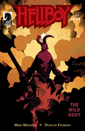 Cover Artist:   Mike Mignola    Colorist:   Dave Stewart