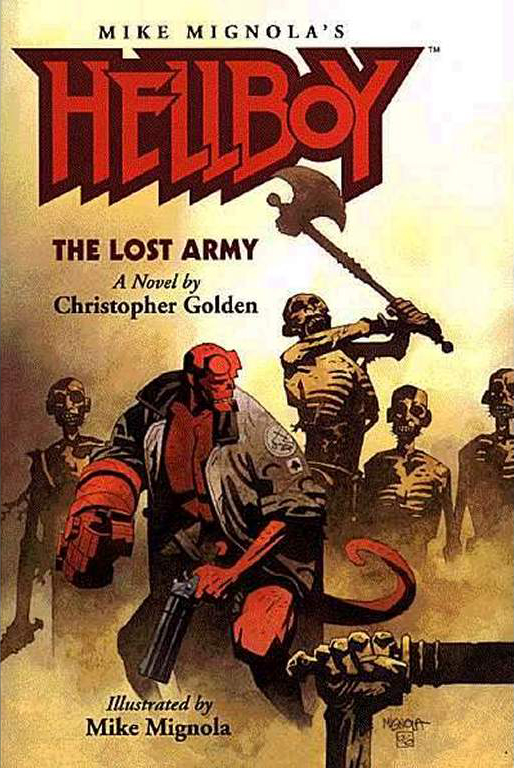 Cover Art:  Mike Mignola  Color:  Dave Stewart  (probably?)
