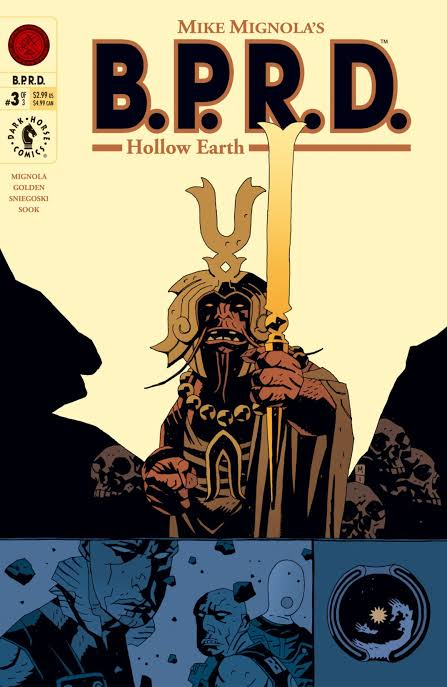 Art:  Mike Mignola  Color:  Dave Stewart