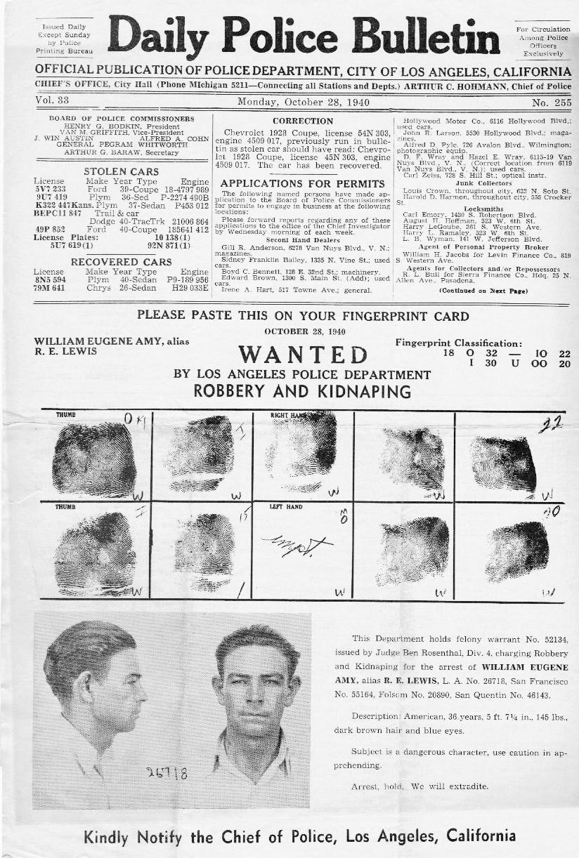 @Police Bulletin October 28 1940 p1 top.jpg