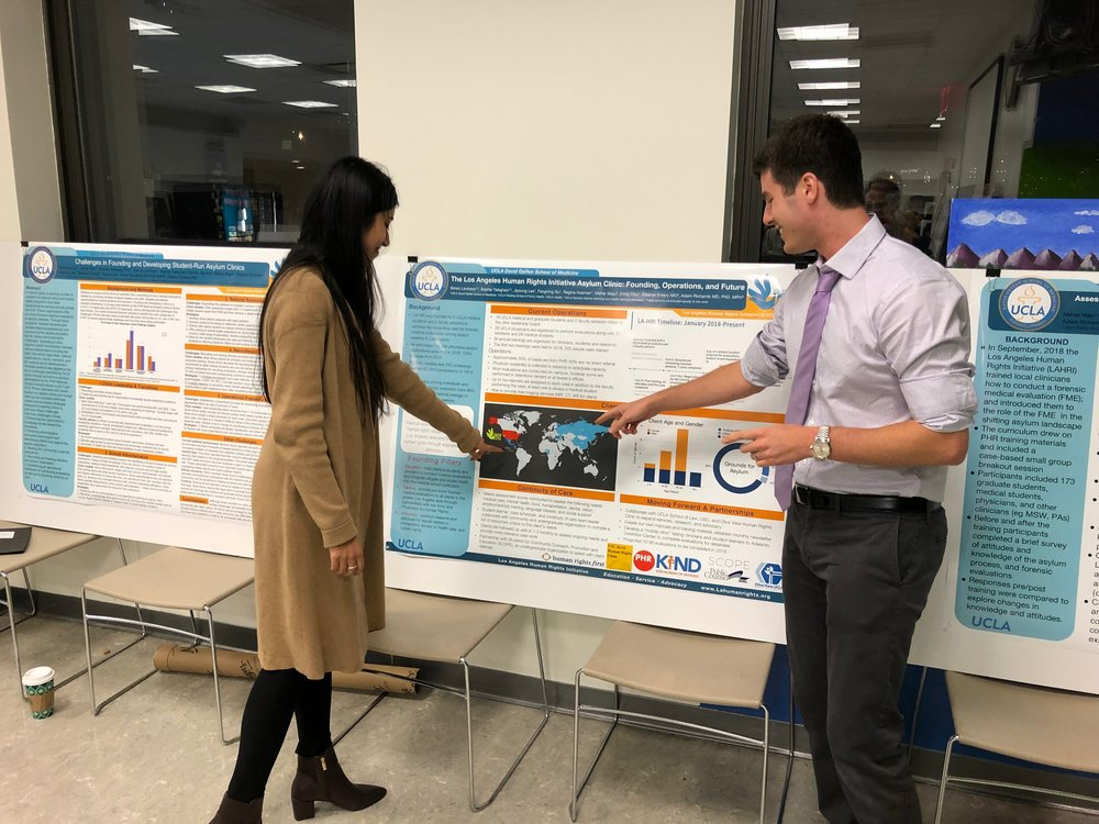 Research presentation in New York City