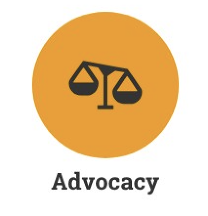 We work to advocate for our clients through petitions, attending rallies, and educating the public about immigration, asylum and human rights.
