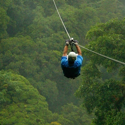 Zip-lining above the cloud forest on the world's longest canopy tour? Yeah, we'll do that. See you in June. #AMoveableFeastIV
