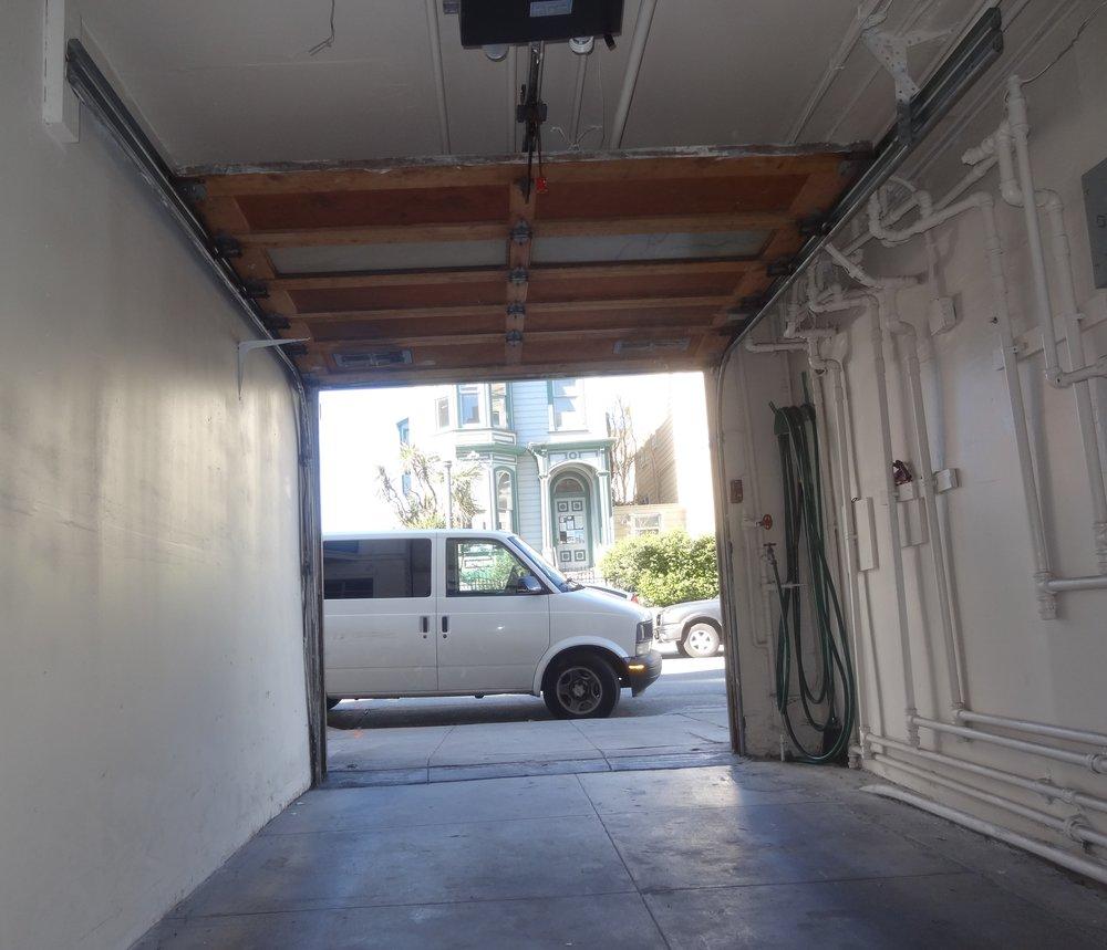 Garage tunnels