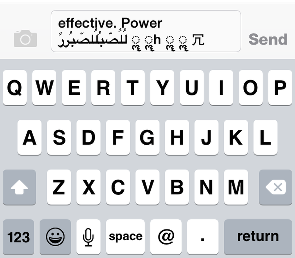 A specially crafted text message could crash any iPhone