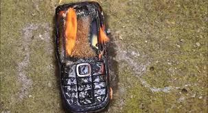 Literal Burner Phone