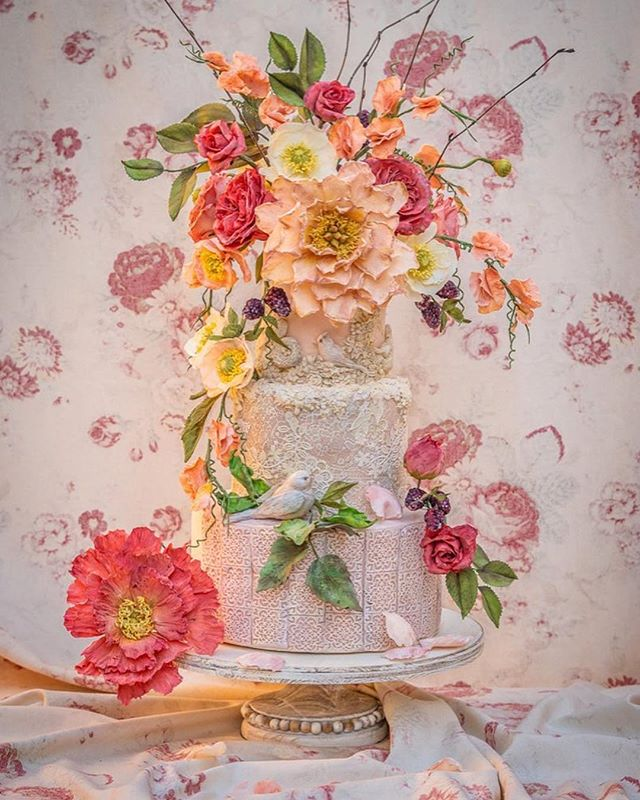 #Repost @kinvarabalfour ・・・ We had a pre-baby party this weekend. Words cannot express my gratitude to @juliesimoncakes for the incredible, immaculate cake she made for us. Julie is the new cake star of the world! Every single flower & detail on our cake is edible & handcrafted in sugar 🌸 Literally every petal. Her work is unique. Thank you to our kindest hostess Gillian Wynn for arranging everything & to @deborahjaffe for the perfect photos 🎂❤️ . . #cake #cakes #JulieSimonCakes #babyshower #wedding #weddingcake  It was such an honor to make this cake for the most lovely and gracious mom-to-be, @kinvarabalfour. So much love and congratulations. 🌸💗