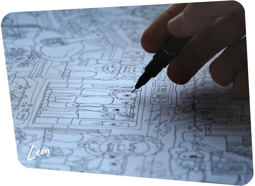Drawing 'Beijing Technicolour Dream Coat'