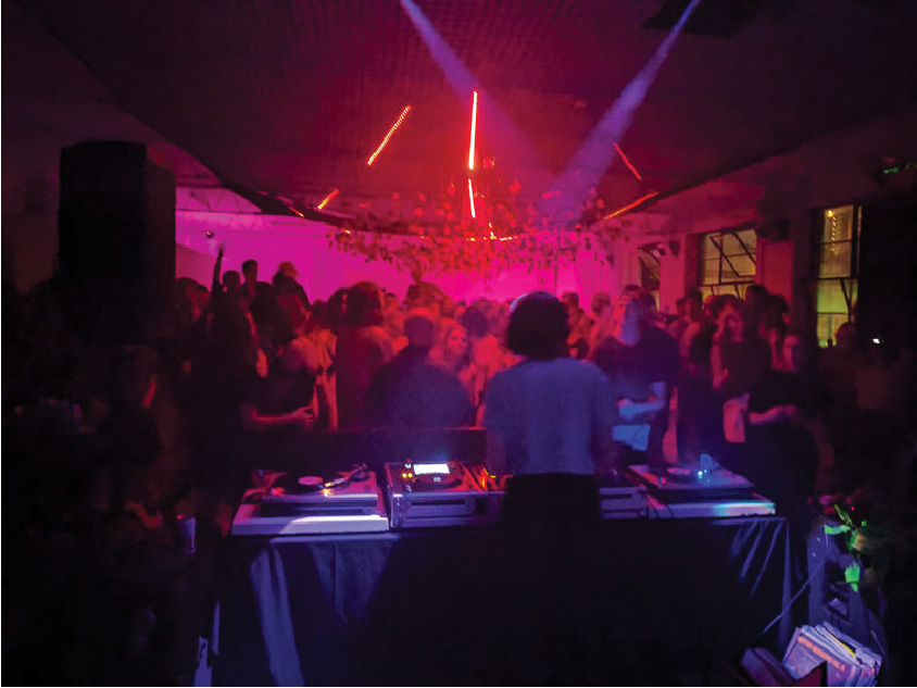Nong Sound System with Kate Miller for Cool Room 2nd Birthday. Marfa Gallery