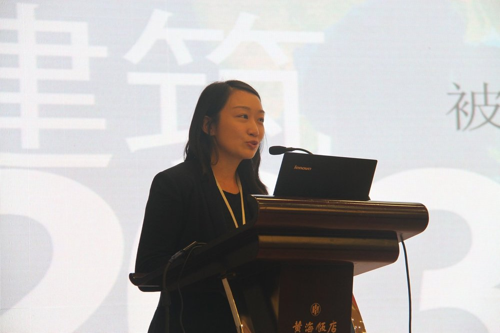 """Yaki speaking about the """"China Accord"""" at COP 21 in Paris"""