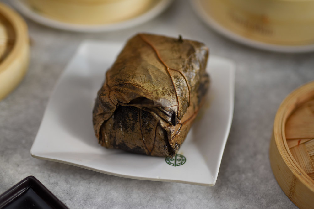 GLUTINIOUS RICE IN LOTUS LEAF $8.80