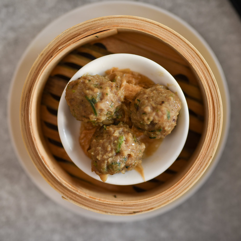 BEEF BALL WITH BEANCURD SKIN $6.00 (3pcs)