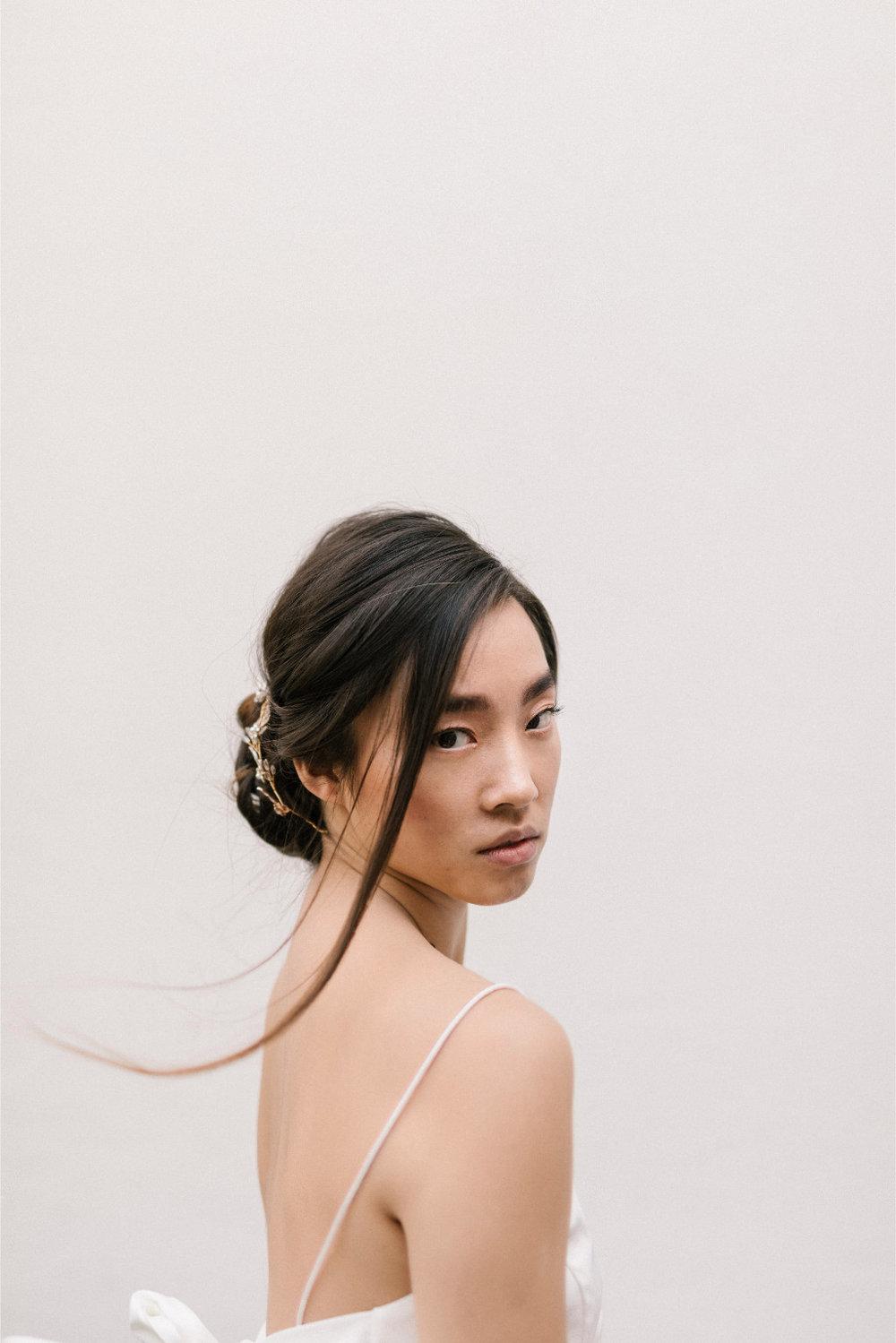 Blanche Headband  Fleur Romance - Modern bridal hair accessories and jewellery