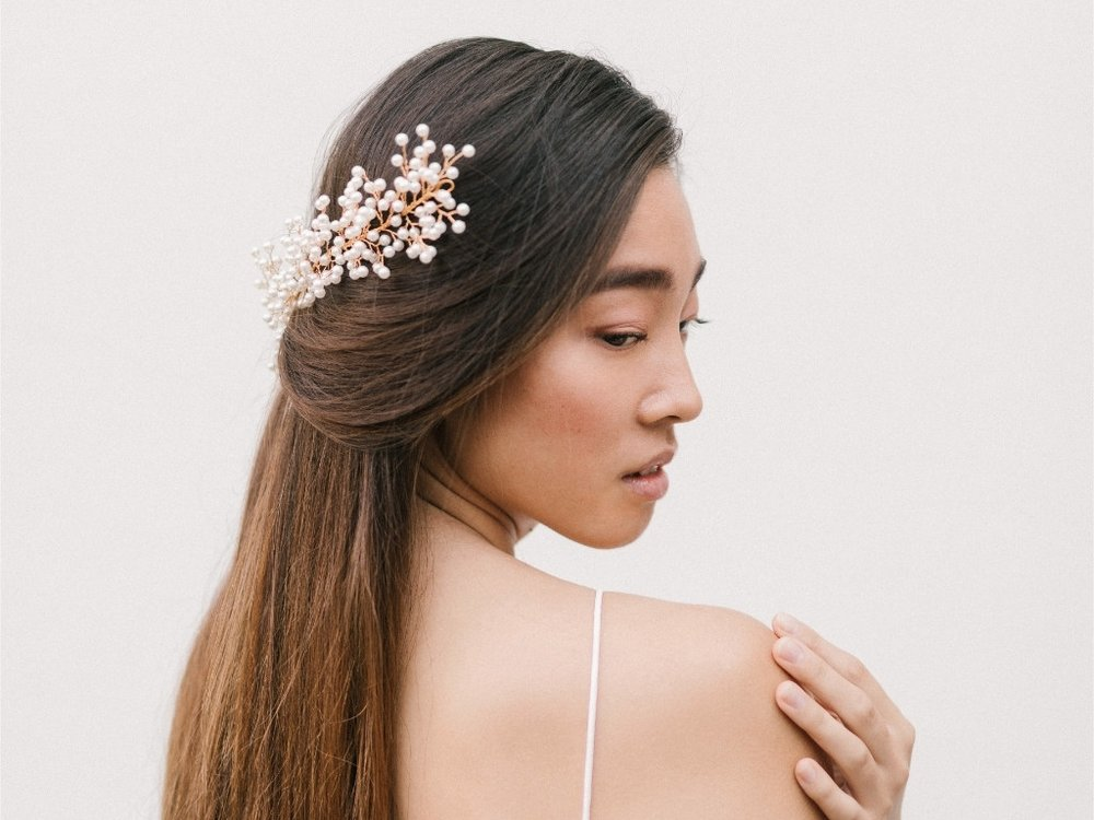 Alecia Headband| Fleur Romance - Modern bridal hair accessories and jewellery