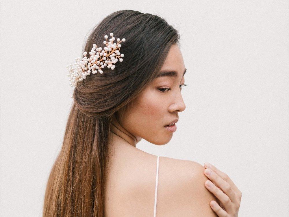 Alecia Headband  Fleur Romance - Modern bridal hair accessories and jewellery