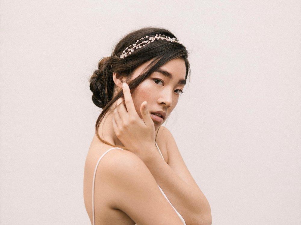 Olivia Headband  Fleur Romance - Modern bridal hair accessories and jewellery