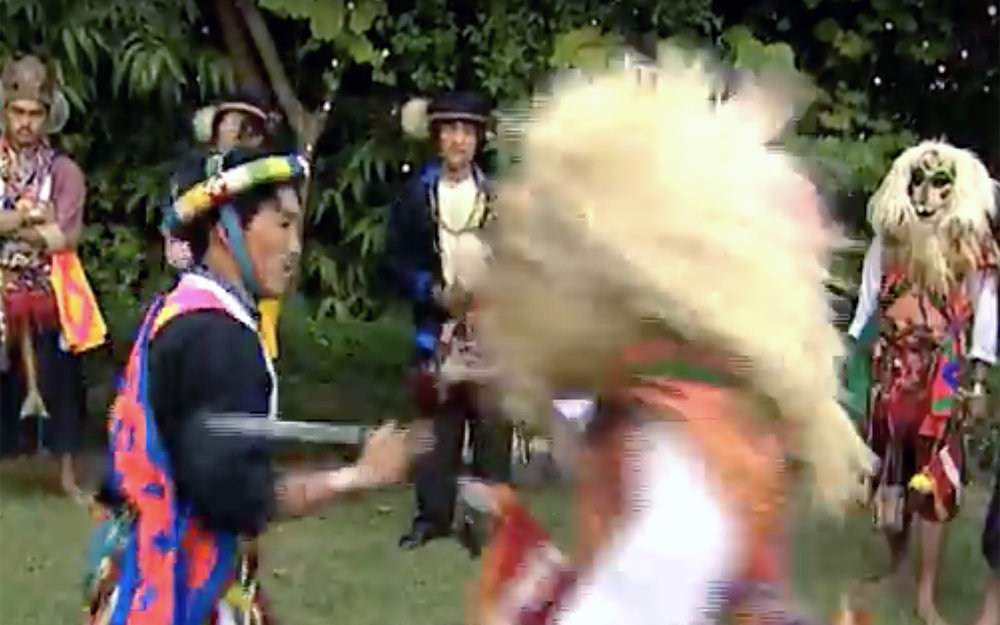 18.Aji Lhamu / Tibet / India - Aji Lhamu is one of the most prominent folk dance forms practiced by the Monpa tribe of Tawang in Arunachal Pradesh, India. It is basically the Tibetan version of the Hindu epic Ramayana. There are mainly five characters in this dance drama. Nyapa is the central character and Nyao is the rival character. Lhamu and Lhum are two female characters and Gyeli is another character. The characters have mythological origin. Lhamu is a fairy from heaven, who came to earth and later became the queen of Gyeli. This dance form also portrays the grand ceremony of the wedding of King Chhoegay Norzang and Lhamu. It is performed during Losar festival.
