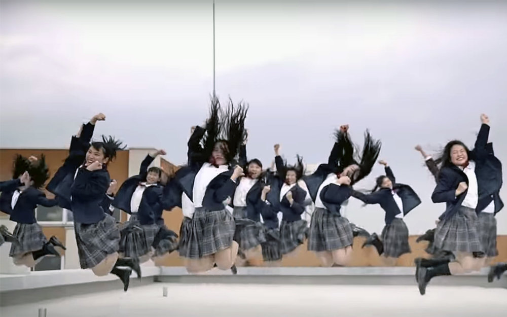 "118.Bubbly Dance / Japan - Bubbly Dance was a dance performed by Osaka Tomioka high school at a national convention ""Dance Stadium"" held on August 17, 2017, and they won the second prize. Bubbly stands is a reference to the high economic growth which happened in Japan from 1960s to around 2000. This high economic growth period is called bubble economy period as it has disappeared like bubble. Students in Osaka Tomioka high school performing bubble dance wore clothes from the bubble economy period, which they borrowed their parents. Akane, who is a graduate of Osaka Tomioka high school and a choreographer of this bubbly dance, filmed this dance video at Osaka Piccadilly theatre and uploaded it on Youtube. It went viral and it was played over 6,400,000 times by people from all over the world."