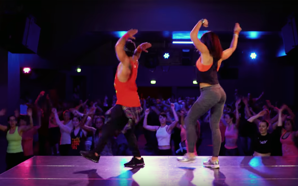 955.ZUMBA / Global - ZUMBA is an exercise fitness program, created by Colombian dancer and choreographer Alberto